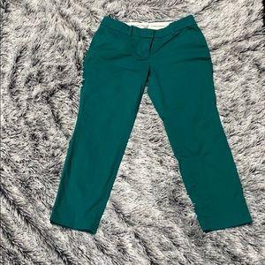 J Crew Cafe Capri pants size 4